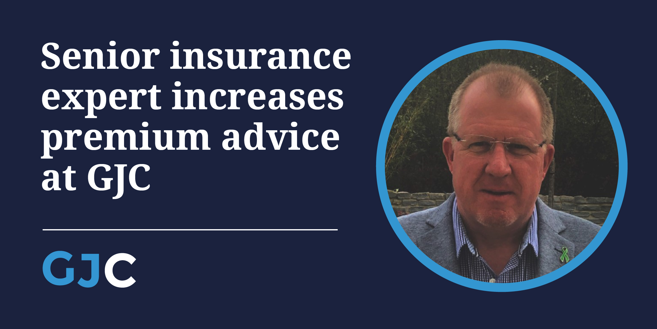 Senior insurance expert increases premium advice at GJC