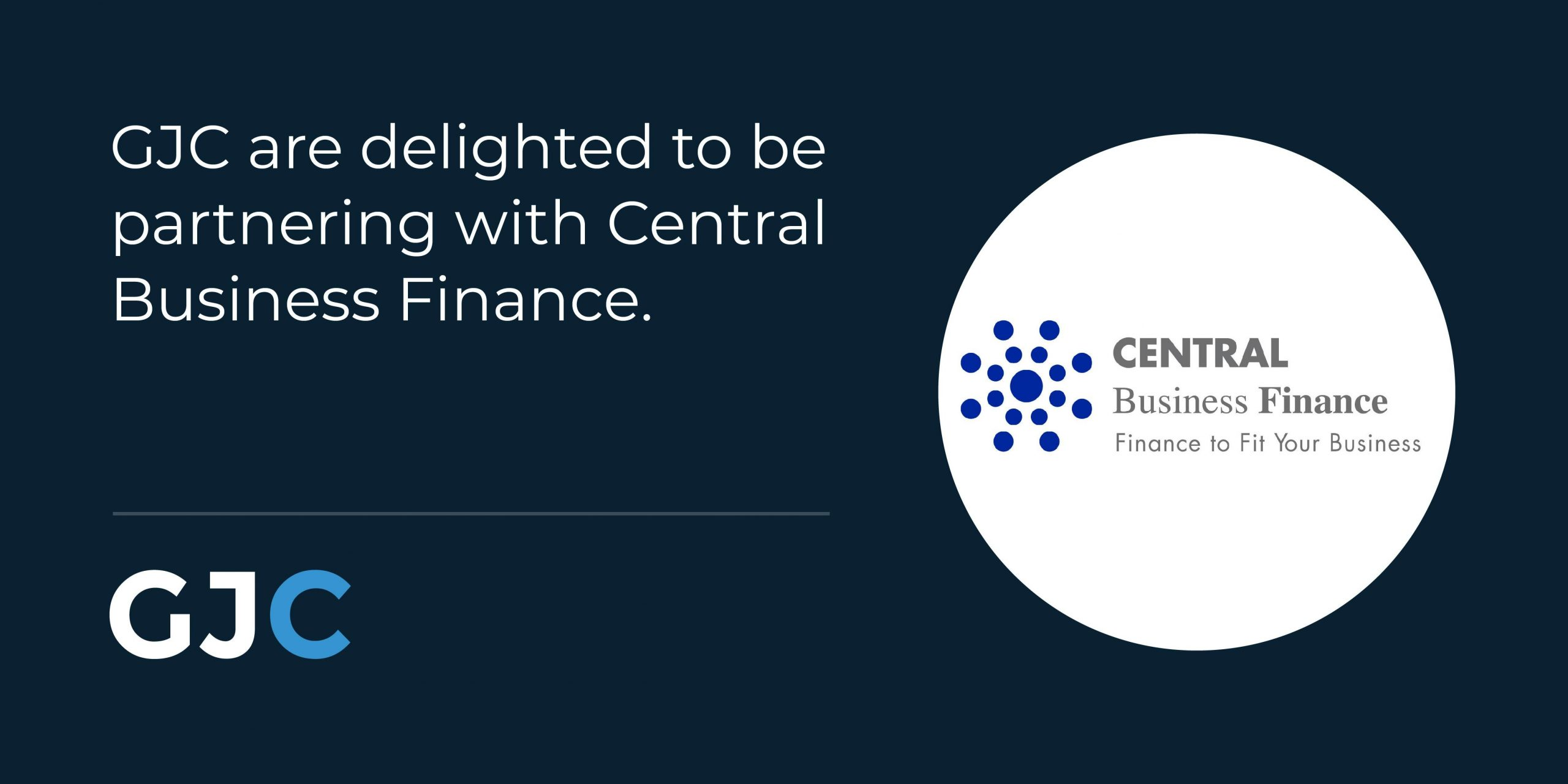 GJC are delighted to be partnering with Central Business Finance.